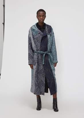 Yohji Yamamoto Y's by Tie Waist Gown Coat