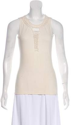Jean Paul Gaultier Sleeveless Cutout Top