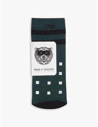 PAIR OF THIEVES Push It cotton-blend crew socks
