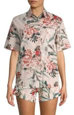 Buy MAISON DU SOIR Gigi Floral Pajama Top!