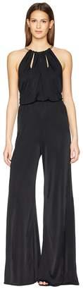 Versace Tuta Donna Jersey Jumpsuit Women's Clothing