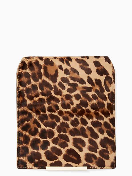 Make it mine leopard-print haircalf flap