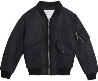 Burberry Lightweight Nylon Bomber Jacket