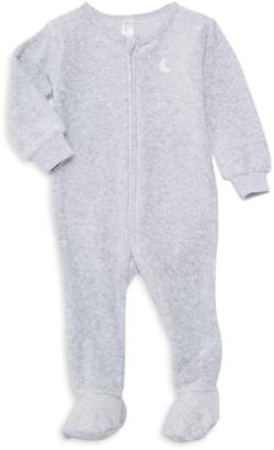 Petit Lem Sleep Baby Boy's Graphic Cotton-Blend Footie