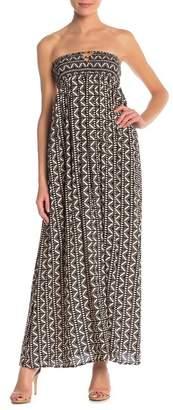 re:named apparel Sahara Smocked Maxi Dress
