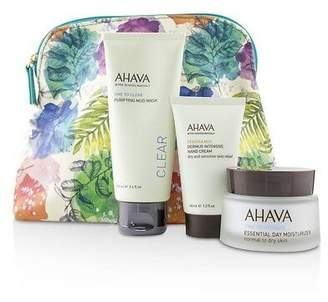 Ahava NEW Elements Of Love Natural Love Essentials: Essential Day 3pcs+1bag