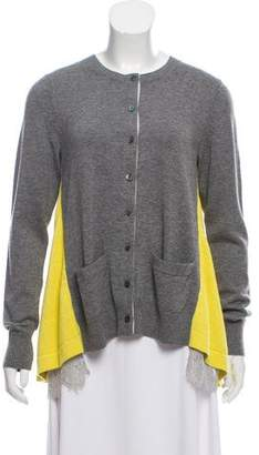 Sacai Wool Knit Cardigan w/ Tags