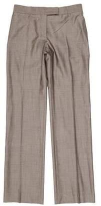 Stella McCartney Straight-Leg Wool Pants