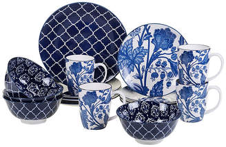 One Kings Lane Asst. of 16 Mara Place Setting - Blue