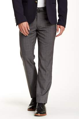 Louis Raphael Tri-Color Plaid Slim Fit Pants