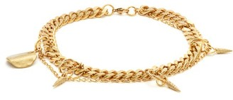 Wilma Orit Elhanati Gold Plated Charm Anklet - Womens - Gold