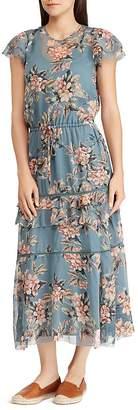 Lauren Ralph Lauren Floral-Print Ruffle Dress
