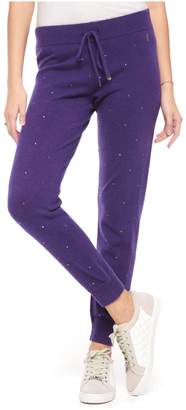 Juicy Couture Embellished Cashmere Track Pant