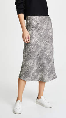re:named apparel re:named Leopard Midi Skirt