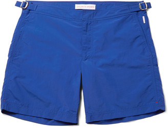 Bulldog Mid-Length Swim Shorts $240 thestylecure.com