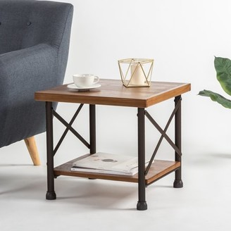 Zinus Industrial Side Table