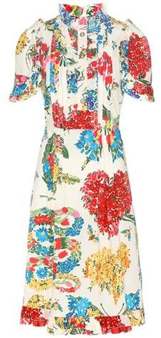 Gucci Printed cotton dress