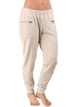 Soybu Women's Luster Mid-Rise Jogger Sweatpants