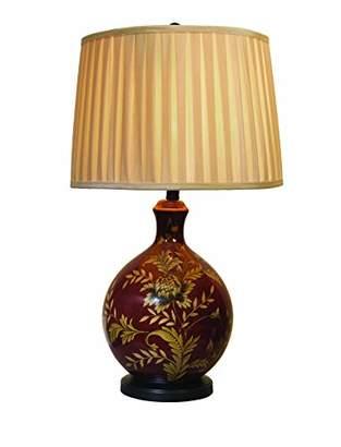 Village At Home Ponza Table Lamp, Ceramic, Brown