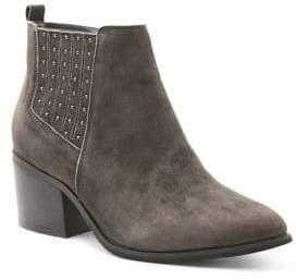 Kensie Suede Ankle Boots