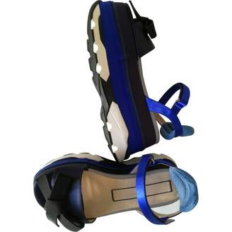 N°21 N21 Blue Leather Sandals