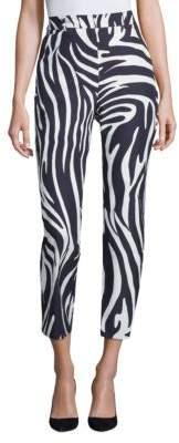 Max Mara Zebra-Print Pants