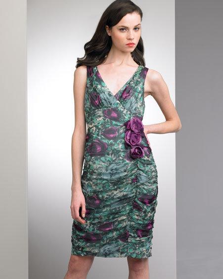 Nanette Lepore Rosette Dress