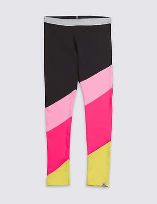 Marks and Spencer Colour Block Leggings (3-16 Years)