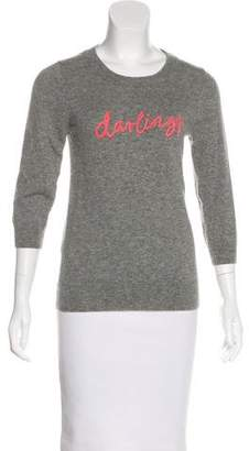 J.Crew J. Crew Cashmere Embroidered Sweater