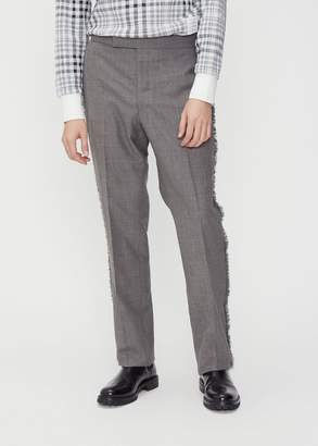 Thom Browne Frayed Edge Classic Backstrap Trouser