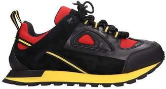 Maison Margiela Black Leather Sneakers