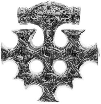 Ostsee-Schmuck Unisex Pendant Oxidised/Blackened 925/000 Sterling Silver)