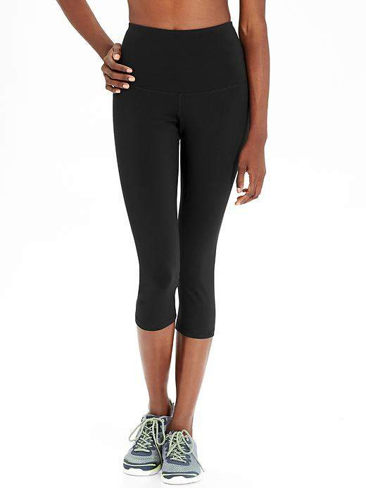 High-Rise Compression Crops for Women