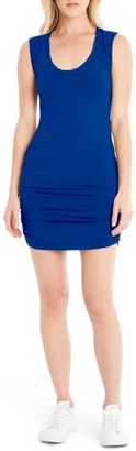 Women's Michael Stars Ruched Jersey Dress $98 thestylecure.com