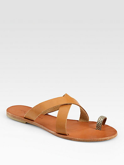 Joie Roque Leather Sandals