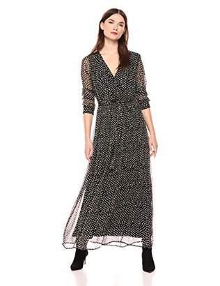 Lucky Brand Women's Polka DOT Maxi Dress