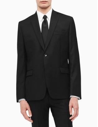 Calvin Klein slim fit black suit jacket