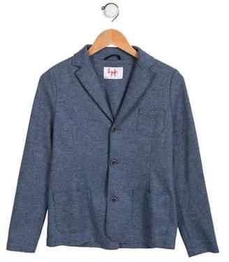 Il Gufo Boys' Virgin Wool-Blend Blazer