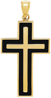 FINE JEWELRY Religious Jewelry Womens 14K Gold Cross Pendant