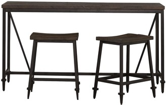Hillsdale Furniture Trevino 3-Piece Counter Height Table Set