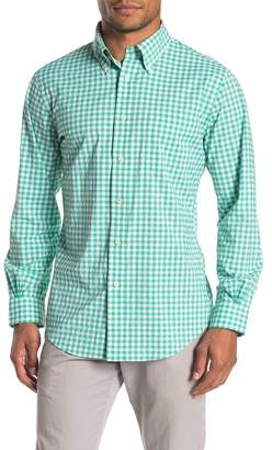 Brooks Brothers Gingham Check Performance Slim Fit Shirt