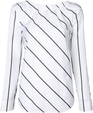 Sportmax Code striped blouse