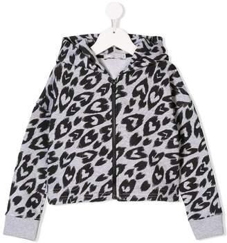 Stella McCartney hearts print hoodie