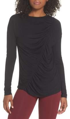 Zella So Graceful Ruched Tee