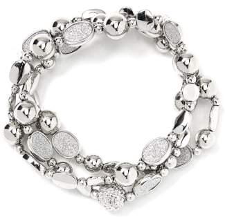 Penningtons Set of 3 Bracelets with Glitter Rhinestones