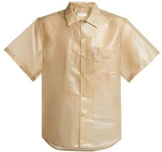 Toga Laminate poplin shirt