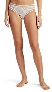 Eres Women's Paperwall Lace Bikini Briefs - White