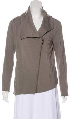 Helmut Lang Shawl Collar Zip-Up Jacket