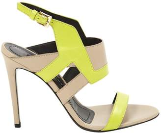 Gianmarco Lorenzi Leather sandals