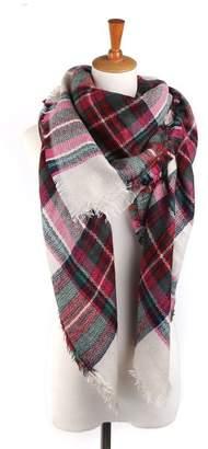 Spring Fever Large Tartan Fashion Women Scarf Lovely Best Gift Scarf Wrap Shawl